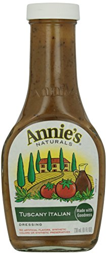 Tuscany Italian Dressing - Annies Homegrown Tuscany Italian Dressing, 8 Ounce