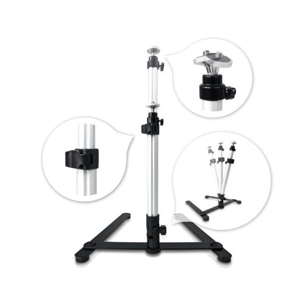 Mobile HAUSER & PICARD 200 Watt 40cm foto studio fotografico cubo luce con borsa e supporto per macchina fotografica… 5 spesavip