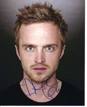 Aaron Paul Signed Breaking Bad 8×10 Photo In-person