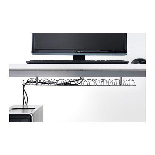 Ikea Regleta para Cables Horizontal, Metal, Gris, 86x21x5 cm: Amazon.es: Hogar