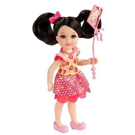 5Star-TD Madison w/ Pink Kite: Barbie Chelsea & Friends Summer Dreamhouse Collection ~5.5' Doll Figure
