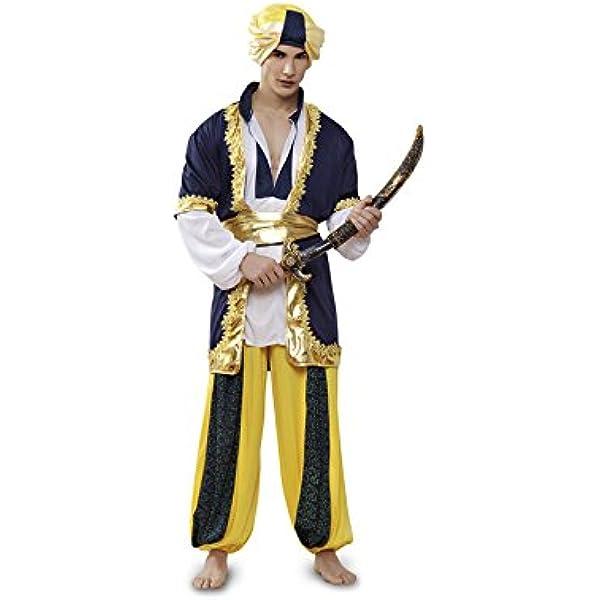 Disfraz de Paje Real o de Sultán para hombre M-L: Amazon.es ...