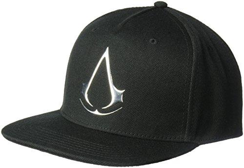 Assassin's Creed Men's Sonic Weld Logo Baseball Cap, Black, One Size