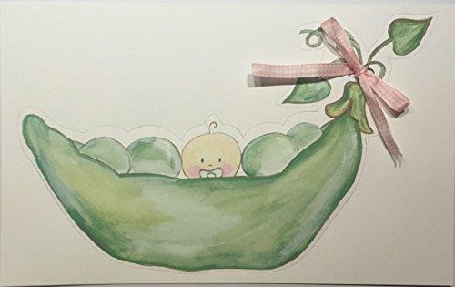 Pea-in-a-pod Unisex Birth Announcement