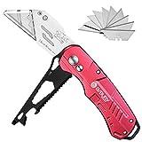 Best Carpet Knives - Utility Knife, BIBURY Multipurpose Carpet Knife, Double Cutter Review