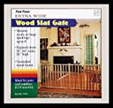 Four Paws Vertical Wood Slat Pet Gate