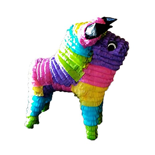 Large Rainbow Bull Pinata, Mexican Fiesta Party Game and Centerpiece - 10 Perfect San Antonio
