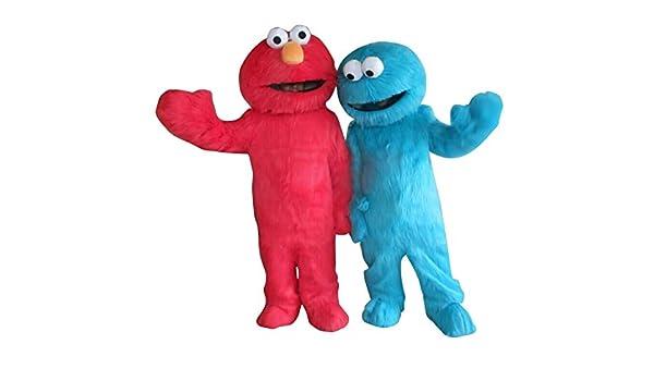 Happy Shop - Disfraz de Elmo y Cookie Monster Sesame Street ...
