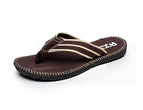 Desen Mens Flip Flops Beach Thong Shoes Casual Slides Indoor & Outdoor Flip-Flops