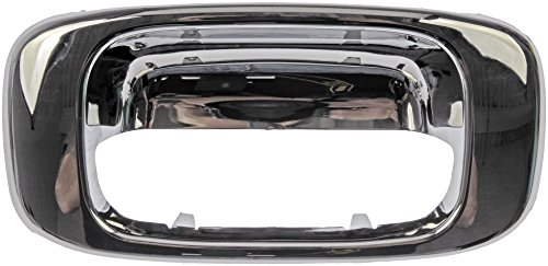 Chrome Tailgate Bezel (Dorman 91134 Chevrolet/GMC Chrome Replacement Tailgate Handle)