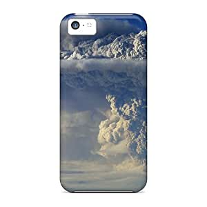 Saraumes KxLkaFN2968bdRTs Skin For Ipod Touch 4 Case Cover (volcano Eruption)