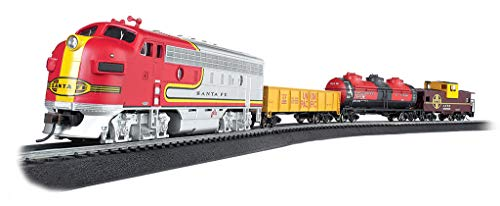 Train Set Santa - Bachmann Trains - Canyon Chief Ready to Run Electric Train Set - HO Scale