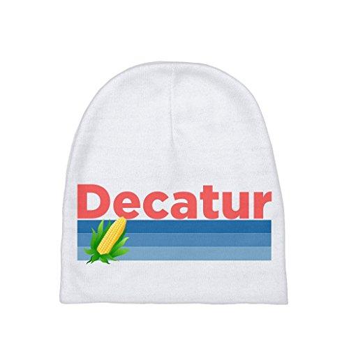 (Decatur Retro Corn & Farm - Illinois Unisex Baby Beanie)