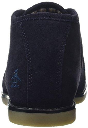 Original Penguins Herren Lawyer Combat Boots blau (marineblau)