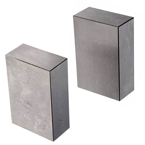 HFS (R) 1 Pair 123 Blocks 1-2-3 Ultra Precision .0002 Hardened Without Holes