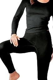 Sangora Women\'s Thermal Long Leg Pants 8010770 Natural White S