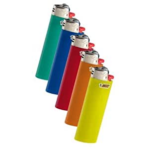 Bic Classic Full Size Lighter Maxi Full Size 5 Pack
