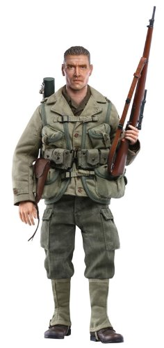 "Dragon Models 1/6 ""Danny"" (Private 1st Class) - U.S. Army Sniper, 2nd Ranger Battalion, France 1944 (Life-Like Sculpts) Cyber Hobby"