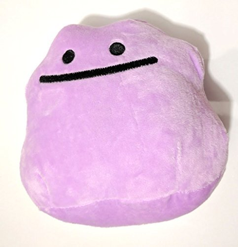 Pokemon Ditto 6 Plush Toy by ToyKingToys