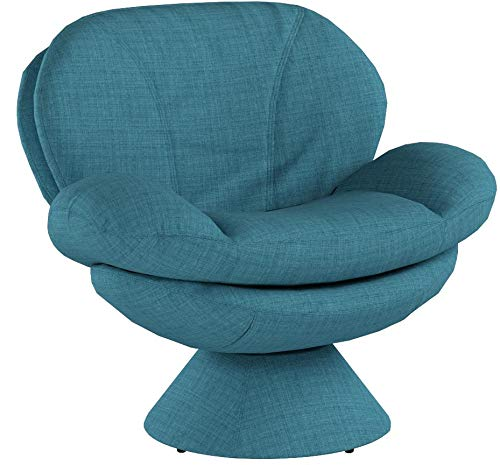 Mac Motion Comfort Chair Pub Leisure Accent Chair in Turquoise Fabric - 6