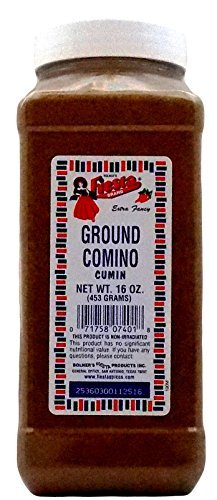 Bolner's Fiesta Extra Fancy Ground Comino (Cumin), 16 Oz.