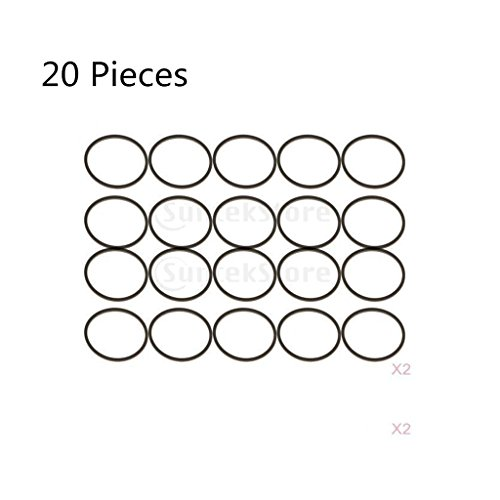 Baoblaze 20 Pieces Rubber Ring Square Type Drive Motor for sale  Delivered anywhere in Canada