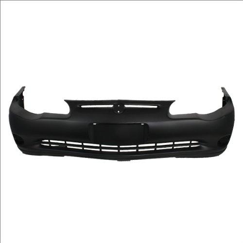 CarPartsDepot Front Bumper Cover Primed Assembly W/o Fog, 352-151158-10-PM GM1000587 12335836 (Chevrolet Monte Carlo Bumper Cover)