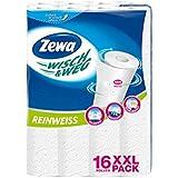 Zewa Wisch-und Weg Paños de cocina 1Paquetes de 16rollos Pure White XXL