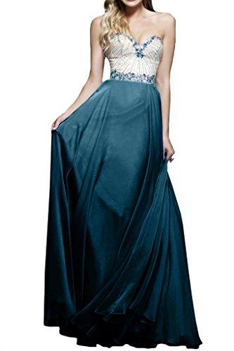 dell'abito Blu Donna Ivydressing Inchiostro da Bete taglio a un'ampia A foreverde linea vestiti forma cuore sera di q6nZqa4