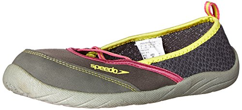 Speedo Women's Beachrunner 3.0 Water Shoe, Grey/Grey, 8 M US
