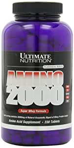 Ultimate Nutrition Amino 2000, 2000 mg, 330 Tablets
