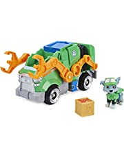 PAW Patrol Deluxe Movie Transforming Toy Car with Collectible Action Figure