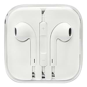 Apple Auriculares con manos libres y micrófono + regulador de Volumen, para iPad iPhone 6 / 6plus / 5 / 5s / 5c & 6s