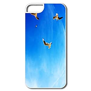Cute Seagulls Flight Hard Cover For IPhone 5/5s