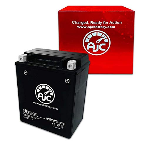 Suzuki LS650 Savage S40 650CC Motorcycle Replacement Battery (1986-2014) - This is an AJC Brand Replacement