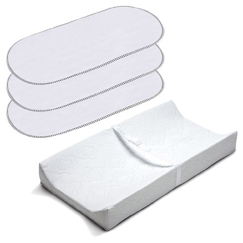 Summer Infant 2 Sided Contoured Changing Pad with Waterproof
