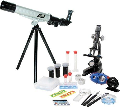 Elenco  Microscope and Telescope with Survival Kit by Elenco