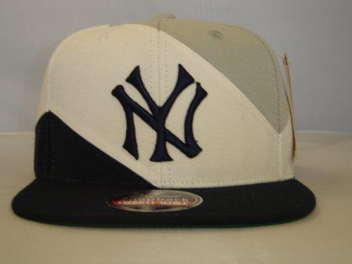 Authentic MLB NY Yankees Trio Custom Retro Team Snapback Cap