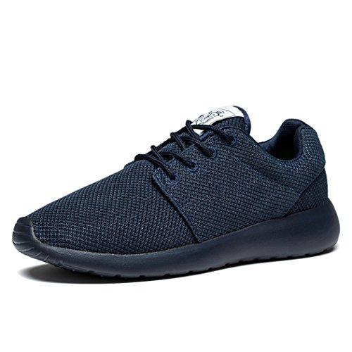 Fengda Men's Running Shoes Outdoor Athletic Leisure Walking Sneakers Allblue EU43