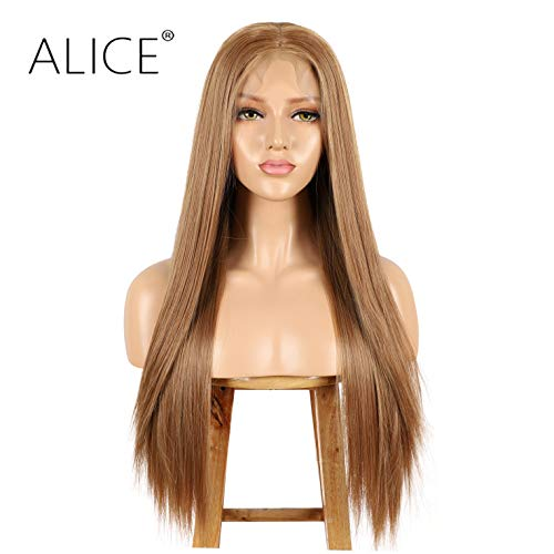 ALICE Lace Front Brown Wig, 13x6 Deep Part 22