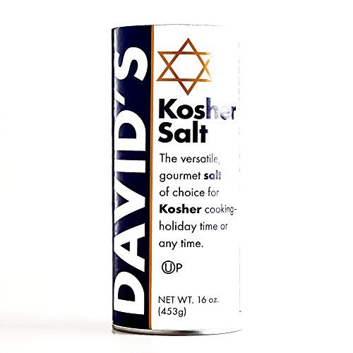 David's Kosher Salt 16 oz each (6 Items Per Order) by David's Kosher
