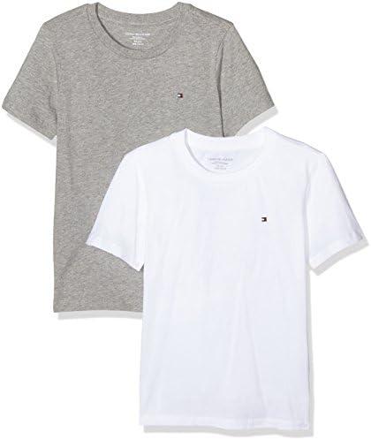 Tommy Hilfiger Camiseta (Pack de 2) para Niños: Amazon.es: Ropa y ...