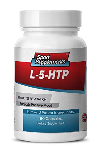 L-5-HTP, 5-HTP positif de l'humeur, la sérotonine, réguler le sommeil, l'appétit (une bouteille)
