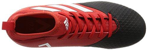 adidas Ace 17.3 Tf J, Botas De Fútbol para Niños Rojo (Red/ftwr White/core Black)