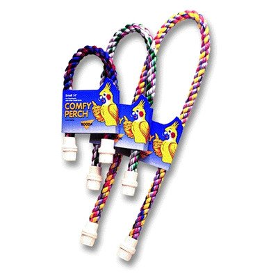Booda Bird Perch Cable - Perch Cable [Set of 2] Size: Large (2