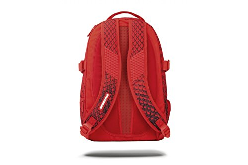 Sprayground Red Snake Spython Backpack