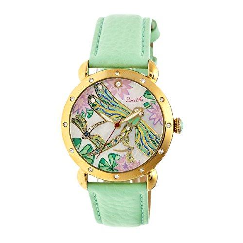 bertha-womens-jennifer-mop-strap-mint-stainless-steel-watch