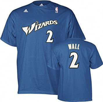 Adidas John Wall Washington Wizards Blue NBA Player T-shirt camisa: Amazon.es: Deportes y aire libre