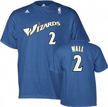 Adidas John Wall Washington Wizards Blue NBA Player T-shirt camisa: Amazon.es: Deportes y aire libre