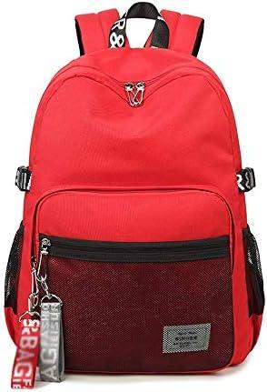 XBSJB Schultasche for Jungen Bookbag Mehrfachtaschen Schulrucksack Freizeitrucksack (Color : C)